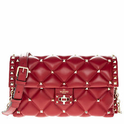 Valentino Women's Quilted Candystud Crossbody Shoulder Bag