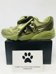 Fenty By Rihanna Bow Sneaker And039oliveand039 365054-04 Womenand039s Size 6-8