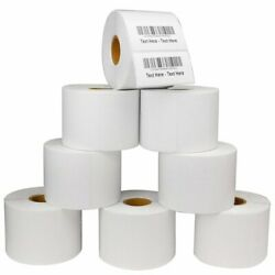 2.25 X1.25 Direct Thermal Barcode Labels Zebra Lp2824 Tlp2824 Lp2844 - 1000/roll