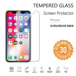 Lot Case Friendly Size Tempered Glass Screen Protector For Iphone Xs Max 6.5