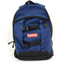 Supreme 14Ss Logo Backpack Side Box Design Rucksack (84214