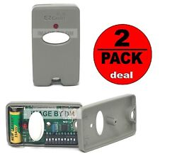 10 Digit Pins Ez Code Gate Remote Control Garage Door Gate Trasnmitter 2pack