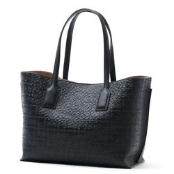 New Authentic LOEWE Tote Bag Black 30589-n94 WOMEN's Gift