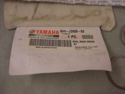 New Yamaha Seal And Snap Ring Kit 6h4-jd008-03 Outboard Jets Hkh9vq 4-1-5