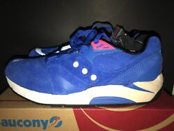 Saucony G9 Control Neon Night Bright Blue Menand039s Size 11.5
