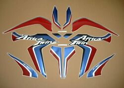 Africa Twin Crf1000l 2015 Full Decals Stickers Graphics Set Replica Reproduction