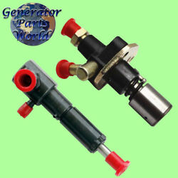 Yanmar Fuel Pump And Left Port Injector For L70ae 714870-51700 Diesel Generator