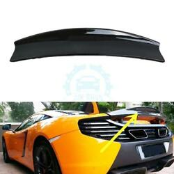 Carbon Fiber Rear Trunk Spoiler Boot Wings Fit For McLaren MP4-12C 2011-2014
