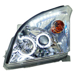 For Toyota Prado FJ120 LC120 4000 2003-2009 Composite Headlight High+Low Beam