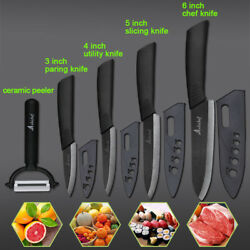 New Ceramic Black Kitchen Knifes Set for Cooking 3