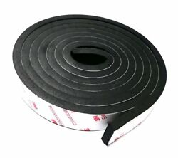 Gourd High Elasticity Foam Seal Tape, Self Adhesive, All-Climate Auto and Marine