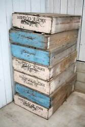 Large Fruit Vegetable Farming Crate Wood Vintage From Bakersfield California