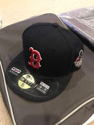 Boston Red Sox 2013 World Series New Era Fitted Hat 7 1/8 On Field Cap Rare Nwt