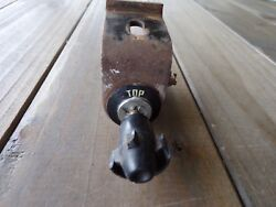 1955 Ford Convertible Top Switch With Knob And Bracket.