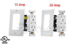 15a / 20a Amp Tamper Resistant Gfci Safety Outlet Tr Ul Listed - Self Testing