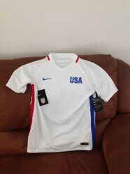 Nike Usa National Team White Soccer Jersey Nwt Size Xl Youth
