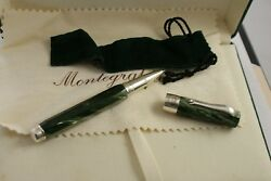 Montegrappa Symphony Rollerball Pen Green Celluloid
