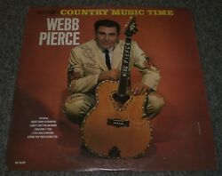 Country Music Time Webb Piercewhite Label Promo1965 Countryfast Shipping