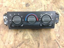 2002 chevy avalanche climate control switch heater ac ( silverado tahoe )