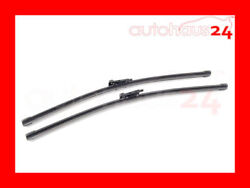 BMW 1 SERIES M 128I 135I BOSCH FRONT WINDSHIELD WIPER BLADES OEM NEW 2008-2013