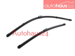 BMW E92 E93 3-SERIES FRONT WINDSHIELD WIPER BLADE SET NEW 328I 335I GENUINE OE