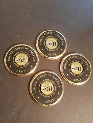 United States Army Warrant Officer Coasters Set Of 4
