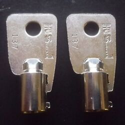 Cka1-cka7 Ct1-ct35 2 Keys For Ace Locks Key Vintage Coke-pepsi Vending Machines