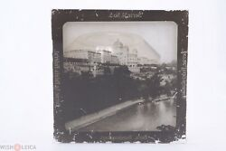 ✅ Magic Lantern Projection Projector Slide Zwitserland Bern Panorama Picture 3