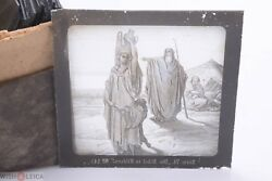 ✅ Magic Lantern Projection, Projector Slide Gustave Dore Bible Picture Glass 9