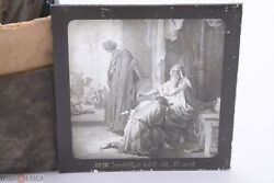 ✅ Magic Lantern Projection, Projector Slide Gustave Dore Bible Picture Glass 5