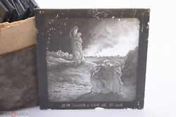 ✅ Magic Lantern Projection Projector Slide Gustave Dore Bible Picture Glass 13