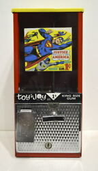 1970 Toy N Joy Gumball Machine W Justice League Of America Header Card