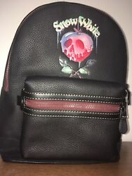 New Coach Disney X leather backpack Limited Edition