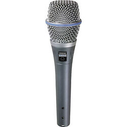 Shure BETA 87A Supercardioid Condenser Handheld Microphone for Vocal