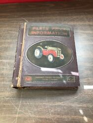 Vintage 1950's Ford Dearborn Tractor Farm Implement Parts Books Catalogs Manuals