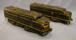 Lionel Erie Alco Diesel Engines Aa Unit 2032 Power And Dummy O Scale Good