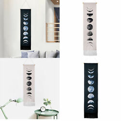 USA Wall Art Tapestry Moon Phase Lunar Display Wall Hanging Gifts Home Decor