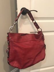 red coach purse leather $100.00