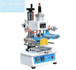 Zy-819h2 Pneumatic Hot Foil Stamping Machine 116120mm Printable Area Xz