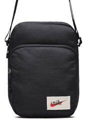 Nike Heritage Mini Shoulder Bag Black Mens Womens BA5809-010