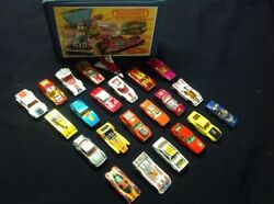 Matchbox And Hot Wheels Vintage Lot With Case - Lesney Superfast Playart