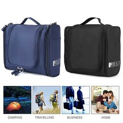 For Women Men Hanging Toiletry Bag Travel Cosmetic Clear Organizer Waterproof US