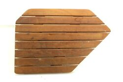 Teak Vanity Seat Head Shower Side Chair 1990 Catalina 34 Sailboat Fast Shipping