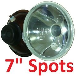 1pair 7 Spot Pencil Headlights For Land Rover Series 1 2 2a 3