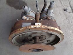 Funk Pump Drives Model 772f Serial 20-77-5082000-09 Sae 4 With 2 Pumps
