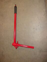 Toro Wheel Horse C-161 Riding Tractor Lift Lever Assembly P/n 107391 Bwc4-5/c-5
