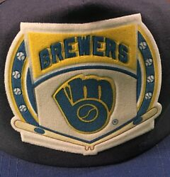 Milwaukee Brewers Hat Vintage 1980's Drew Pearson Official Mlb