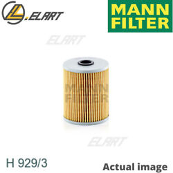 Filteroperating Hydraulics For Scanianeoplan 4 - Series Mann-filter H 929/3