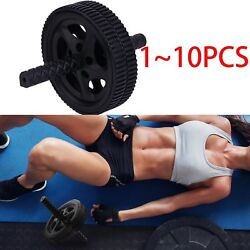 1~10X Fitness Ab Roller Wheel Abdominal Workout Exercise Training Durable LOT BE