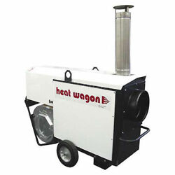 Heat Wagon Indirect Fired Dual Fuel Gas Heater 400K BTU 120V Ductable Lot of